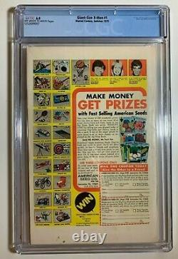 Giant Size X-Men 1 CGC 6.0 Marvel 1975 Hot Book! Lots of First Appearances