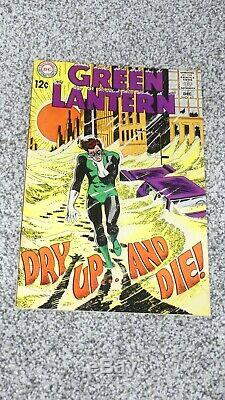 Green Lantern Lot of 5 Silver Age Books Lots of Gil Kane Artwork/Covers