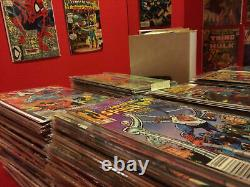 HUGE PRIME 300 COMIC BOOK LOT- MARVEL & DC ONLY- NO DUPLICATES VF+ to NM+ ALL