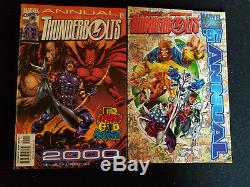 HUGE Thunderbolts Lot! Lots of early issues! Marvel Comics over 50 comics