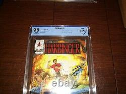 Harbinger 1. CBCS 9.8 with Coupon. Lots of 1st App. Rare Book