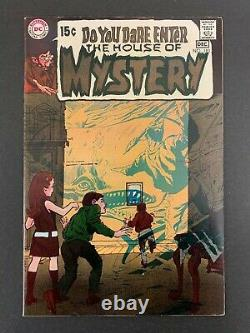 House Of Mystery #183 Very Sharp! (dc, 1969) Adams! Wrightson! Lots Of Pics