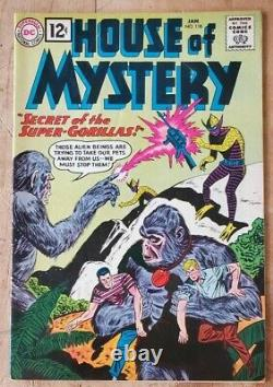 House of Mystery #118 VF Higher Grade! 1962 DC Silver Age Horror! Lots of Photos