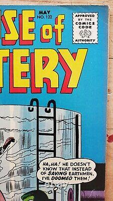 House of Mystery #122 FN+ 1962 Silver Age Horror! Super Glossy! Lots of Photos