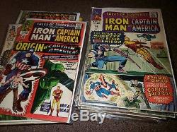 Huge Captain America Silver Age Lot # 100-179 + Tales of Suspense 58-99 Complete