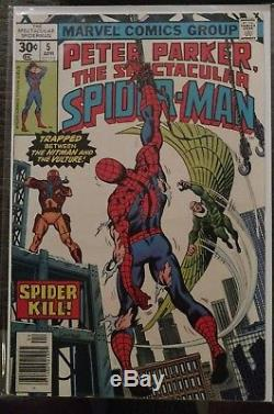 Huge Spectacular Spider-Man 75 Issue Lot 2 4 5 11 17 131 132 212 Annual 1 and 2