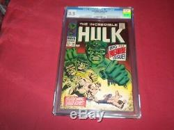 Incredible Hulk #102 marvel 1968 silver age CGC 3.5 comic! Lots of keys up! WOW