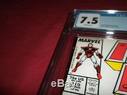 Iron Man #219 marvel 1987 CGC 7.5 comic! 1ST GHOST! Lots of keys up! See store