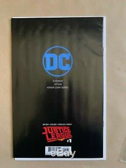 JUSTICE LEAGUE #1-9 Sketch Cover Lot Jim Lee Pencils Only Incentive Variant