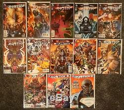Justice League #40-52, 1st appearance of Grail, lots of Variants. High Grade