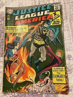 Justice League of America #51 VG Batman Zatanna Lots of Pictures! Free Shipping