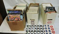LOT OF 380 COMIC BOOKS MARVEL IMAGE & OTHERS 1980s 90s 60s A+ CONDITION