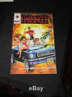 Lot Of 3 Valiant Harbinger Comics Issue #1 Coupons Intact