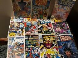 Lot of 100 Marvel/ Some D. C. Comics. Lots Of XMEN And Many Others, 80's/90's