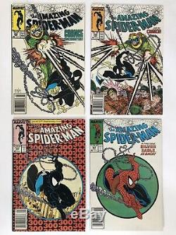 Lot of 15 Todd McFarlane Cover Art Comics. Amazing Spider-Man #299, 300, 301