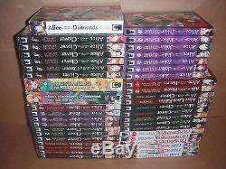 Lot of 43 Alice in the Country of Clover, Joker Manga Graphic Novels Set English