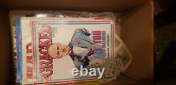 Mad magazines lots of good issuses. 1970 and up