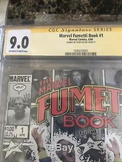 Marvel Age 41 CGC SS Stan Lee Lot No Prize Fumetti All Signed