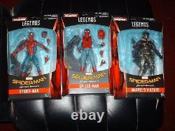 Marvel Legends New Spiderman Homecoming lot x3 vulture both spiderman home suit