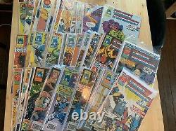 Marvel TRANSFORMERS UK #1 #113 Comic Book G1 huge Lot Of Near Complete Magazines