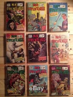 Mexico vintage Comic Book MINI Aventuras different publishers lots