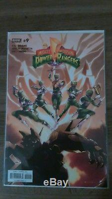 Mighty Morphin Power Rangers Shattered Grid Complete Lot. Extras