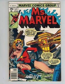 Ms. Marvel 1-23 Complete Lot! 1st appearance of Mystique! Avengers! F/VF