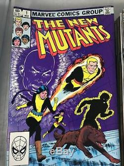 NEW MUTANTS #1-35 ANN. #1 SP. EDITION #1 1983 ALL VF/NM LOTS OF 1st APPEARANCES