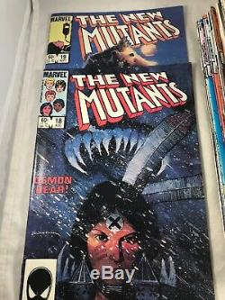 NEW MUTANTS #1-40 ANN. #1 SP. EDITION #1 1983 ALL VF/NM LOTS OF 1st APPEARANCES