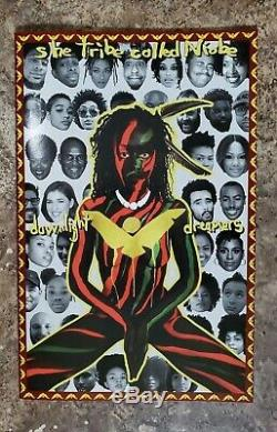 NIOBE #1 A Tribe Called Quest Hip Hop Variant HBO Untamed NM lots of pics 2 book