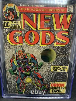 New Gods 1 CGC 9.2 WHITE pages Lots Of 1st Appearances! Jack Kirby DC 1971