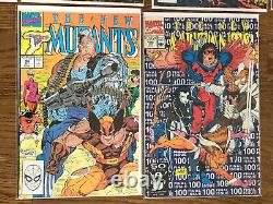 New Mutants- Huge Lot of 22 books between #55 to #100 Lots of Late Issues in Run