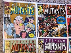 New Mutants- Huge Lot of 29 books between #3 to #87 Lots of Late Issues in Run
