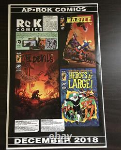 Rags #1 1st Print HTF! & Rags #2 Lots of Photos! Free Shipping! Antarctic Press