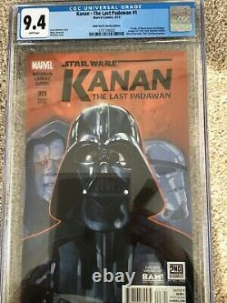 STAR WARS KANAN 1 BAM EDITION IN A 9.4 CGC lots of first appearances