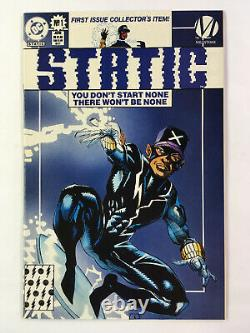 STATIC #1 (1993, DC) Near Mint, 1st apperance, SHIPPING DISCOUNTS MULTIPLE LOTS