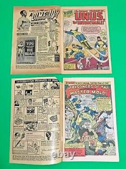 Silver Age Comic The X-men #8, #15, # 30, #33. Nice 4 book lot! Must See