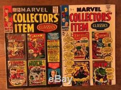 Silver Age MARVEL (LOT OF 16) Comics Fantastic Four, Ghost Rider, Marvel Tales