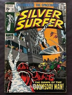 Silver Surfer Silver Age Lot 13 Books Includes #1 Buscema, Kirby