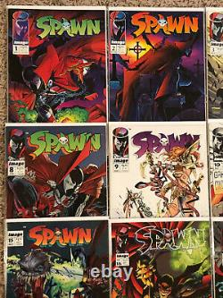 Spawn Huge Lot of 49 Comics Includes 1-18 plus lots of extras and later issues
