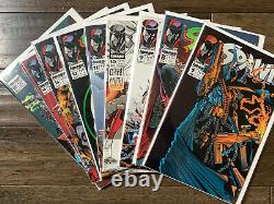Spawn Lot 30 Comic Books 1 15 and more Including Rare Newsstand Edition Image