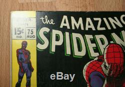 Spider-Man 75 Silver Age 1969 High Grade +Great Condition+ Lots Of Pics & Scans