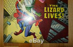 Spider-Man 76 Silver Age 1969 High Grade The Lizard Lives Lots Of Photos