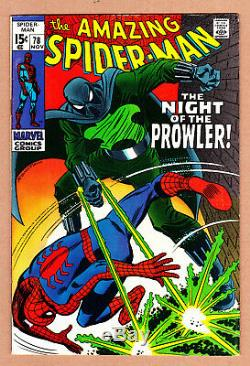 Spider-Man 78 High Grade Silver Age 1969 +Great Condition+ Lots Of Pics & Scans