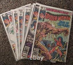 Spider-Woman Vintage First Full Run All Lots 77-83
