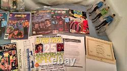 Star Trek Collection Lots of Various Items-Toys/Books/TV Guides/Comics/Etc