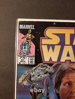 Star Wars #81 Boba Fett Canadian Newsstand 75 Cent Variant Lots of Pics