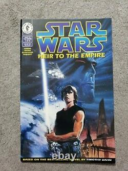 Star Wars Heir To The Empire #1 Dark Horse 1st Admiral Thrawn lots of pics