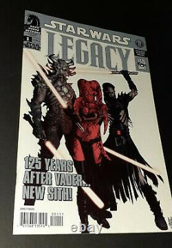 Star Wars Legacy #1 Rare 3rd Print (lots of 1st Appearances) VF+ Key Book