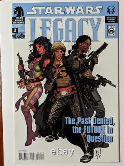 Star Wars Legacy #2 3rd Print Very Low Print Hughes Cover Lots of First Apps